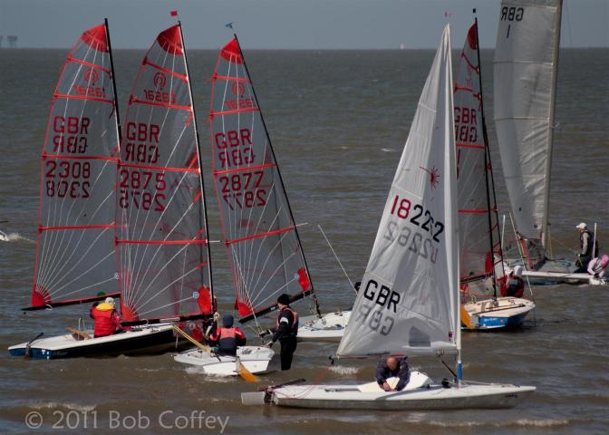 Project 365 day one hundred 10/4/11 yacht racing at Whitstable